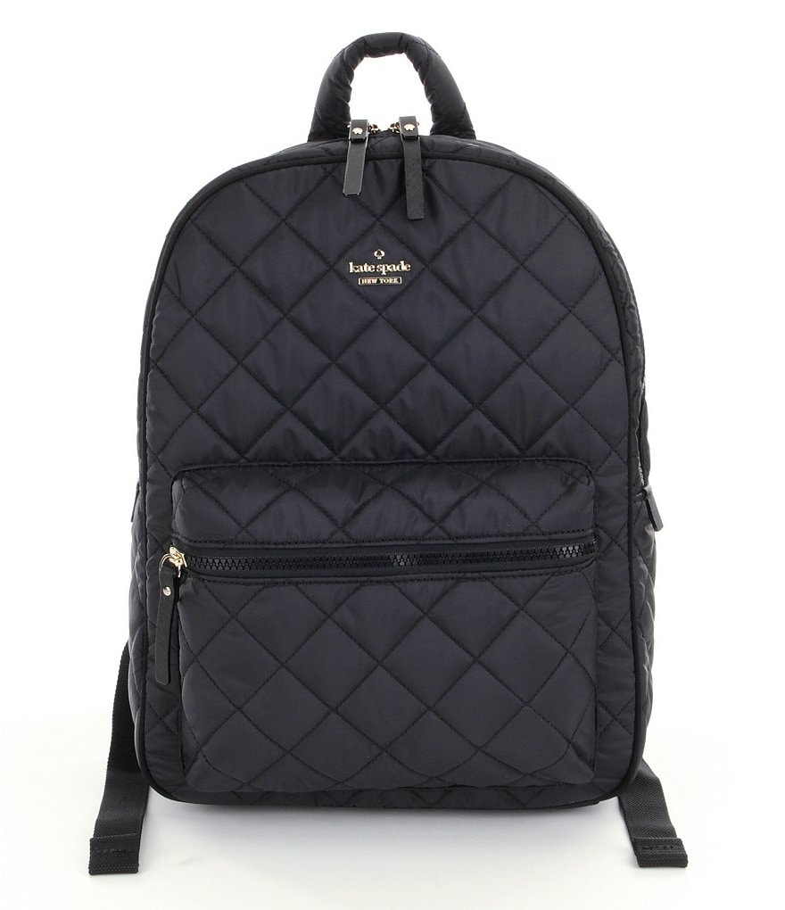 kate spade new york Ridge Street Collection Siggy Quilted Nylon Backpack