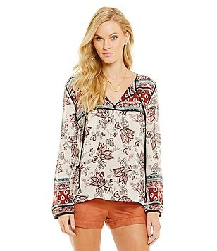 Sanctuary Belle Boho Tunic Top