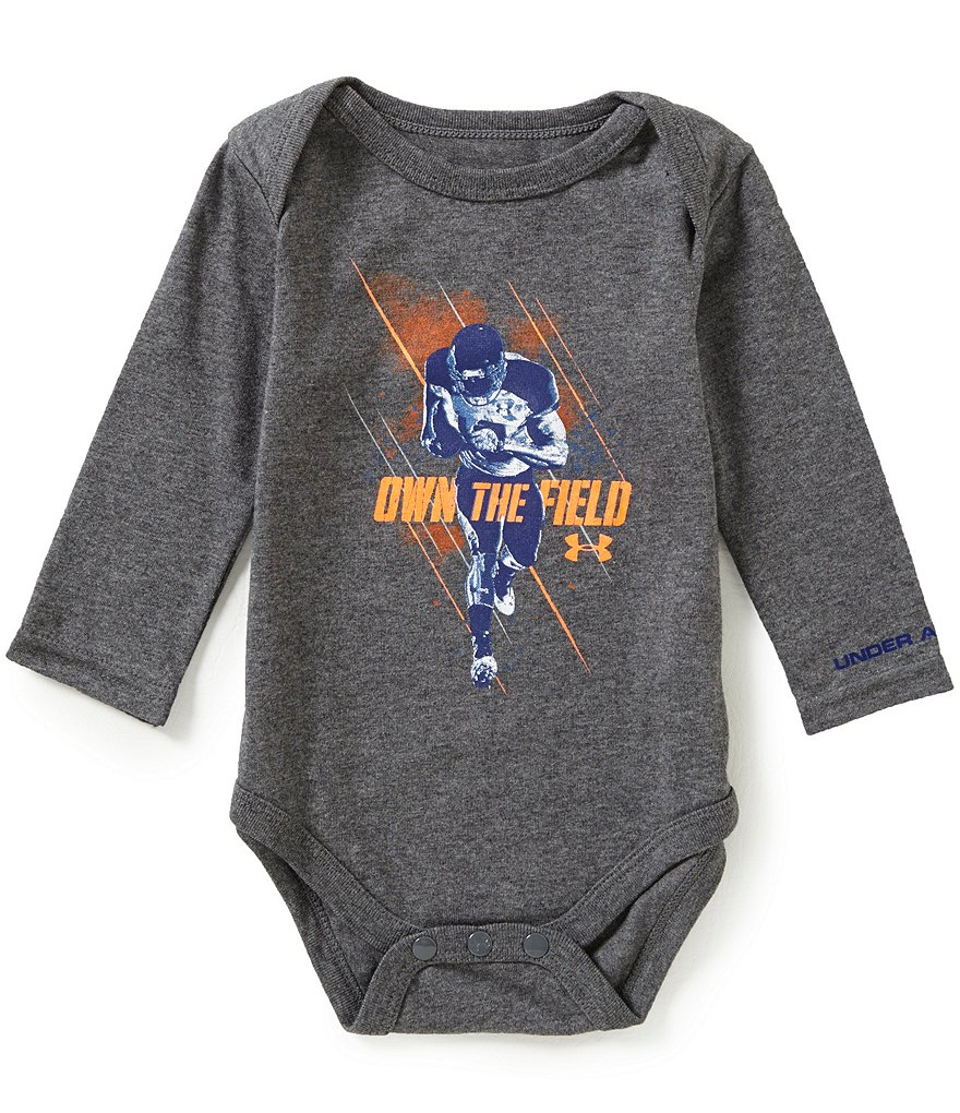 Under Armour Baby Boys Newborn-12 Months Own The Field Long-Sleeve Bodysuit