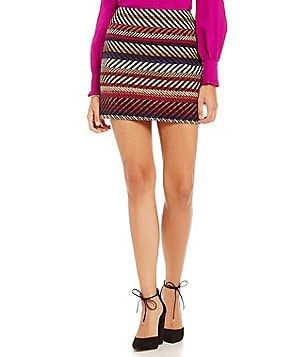 Trina Turk Rico Printed Mini Skirt