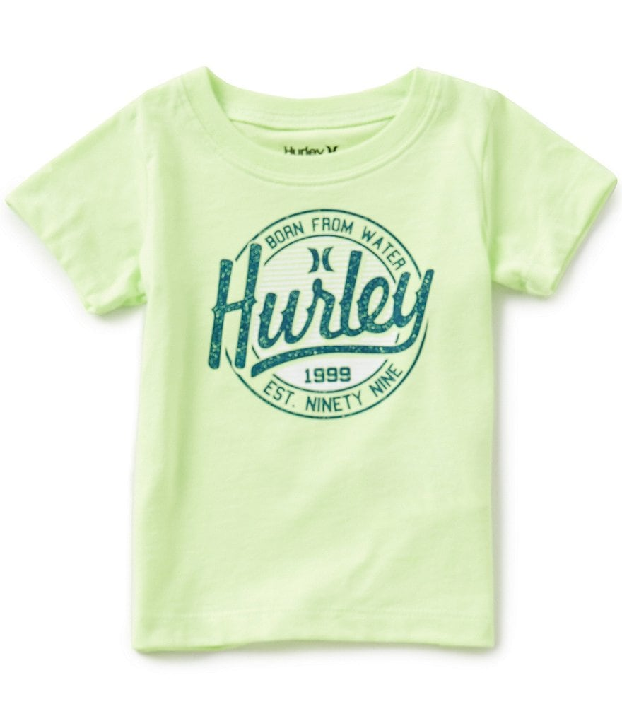 Hurley Baby Boys 12-24 Months Round Up Short-Sleeve Graphic Tee