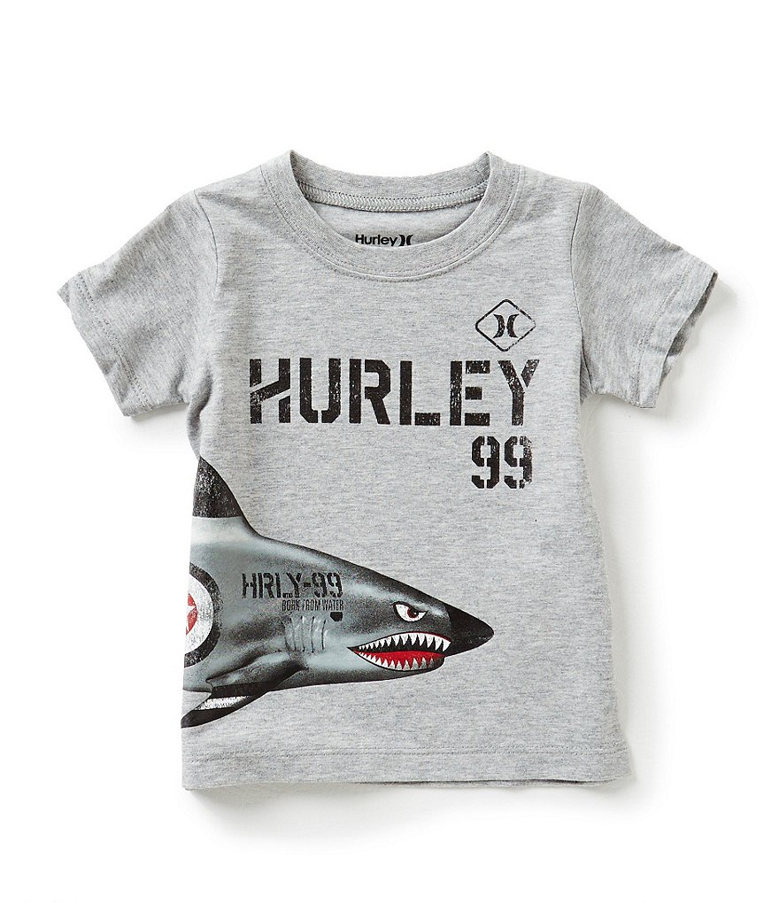 Hurley Baby Boys 12-24 Months Below Deck Short-Sleeve Tee
