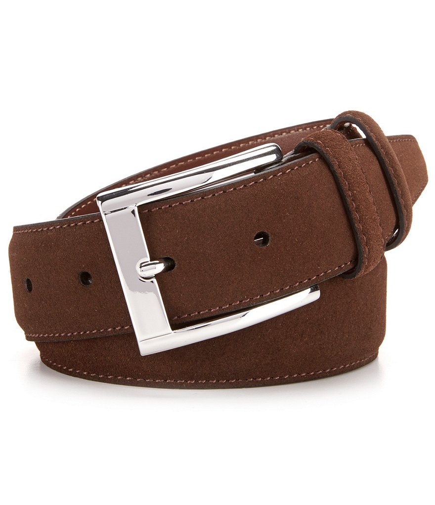 Cremieux Suede Leather Belt