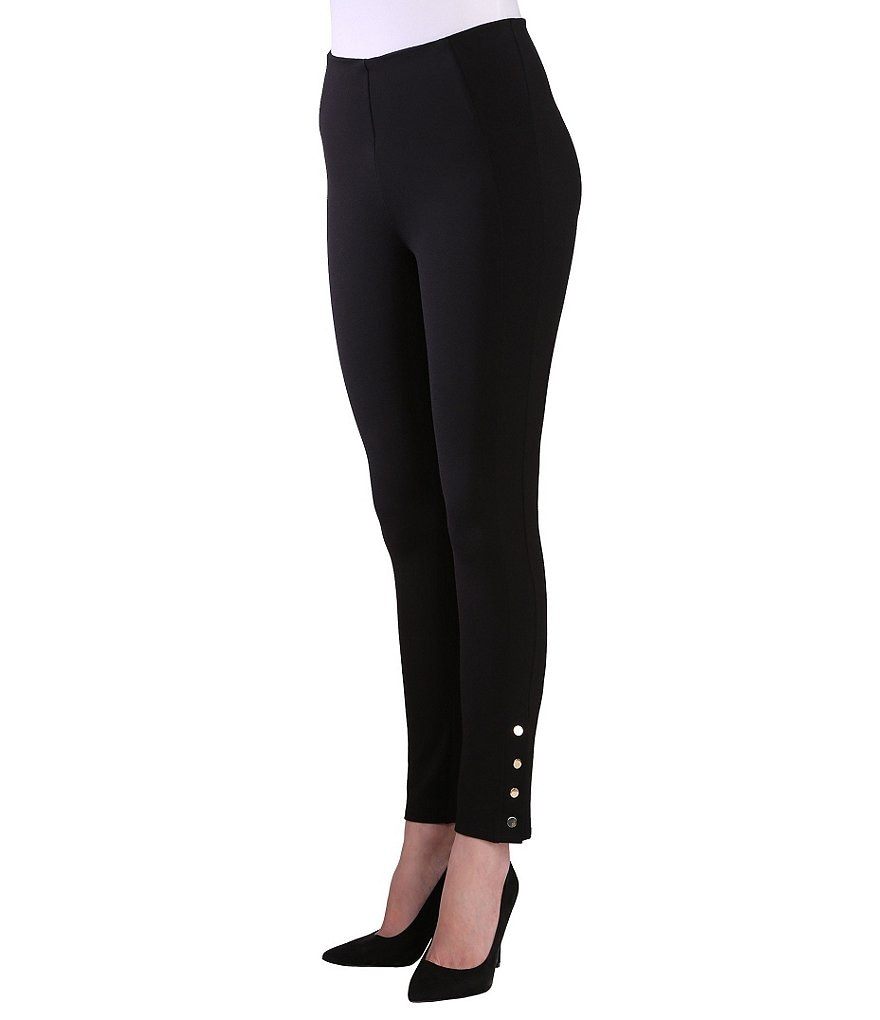 Nygard Slims Petites Luxe Ankle Pants with Snaps