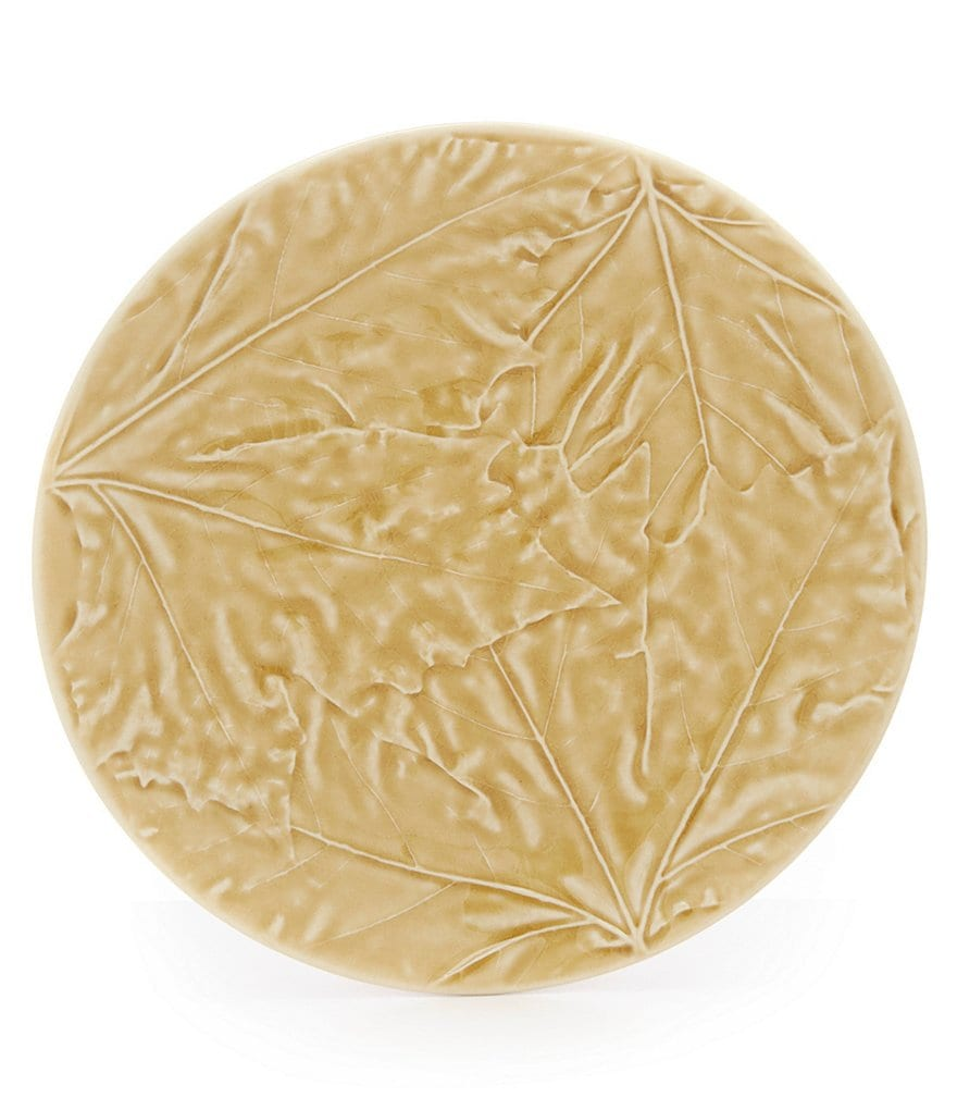 Costa Nova Harvest Village Leaf Salad Plate