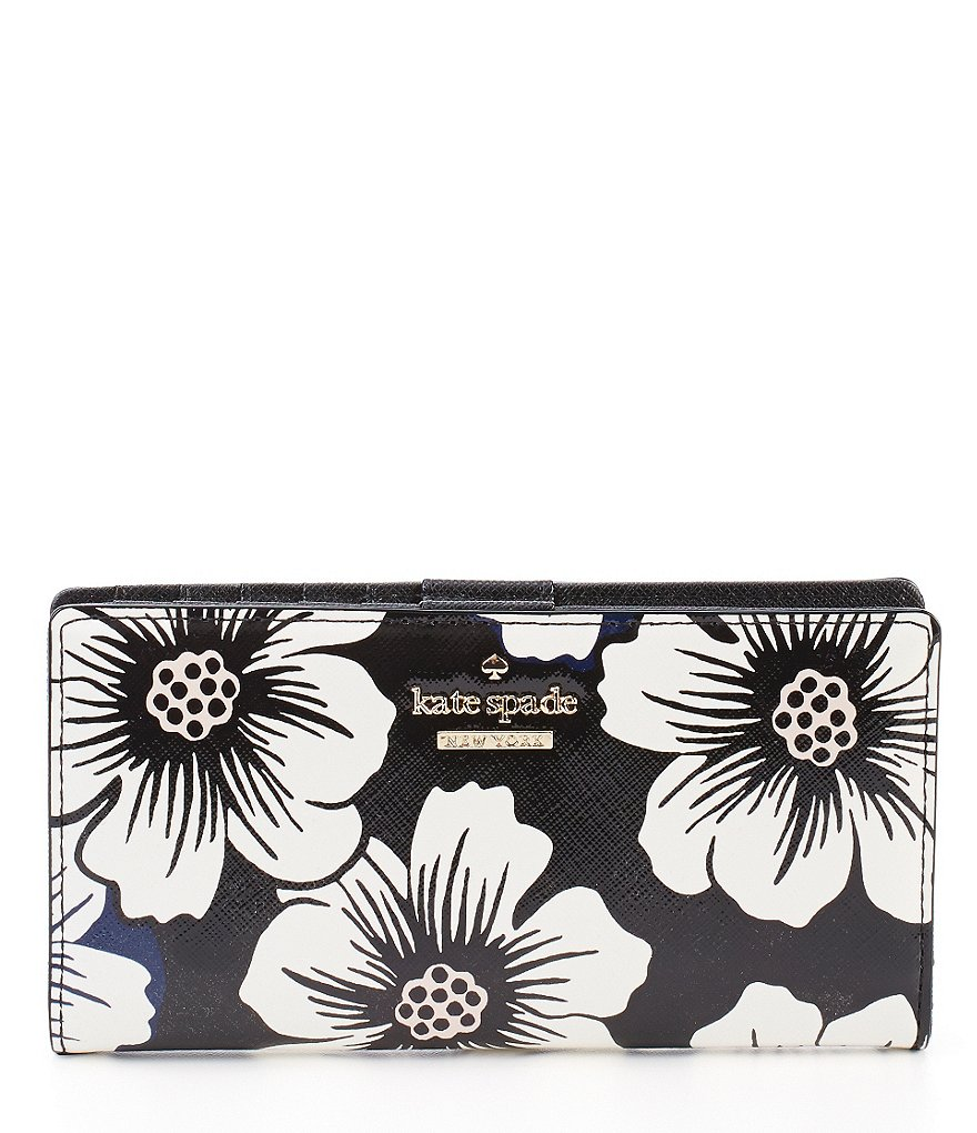 kate spade new york Cedar Street Collection Stacy Floral Continental Wallet