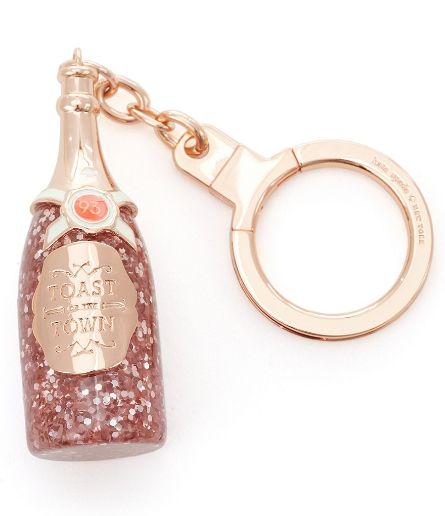 kate spade new york Toast of the Town Champagne Bottle Bag Charm
