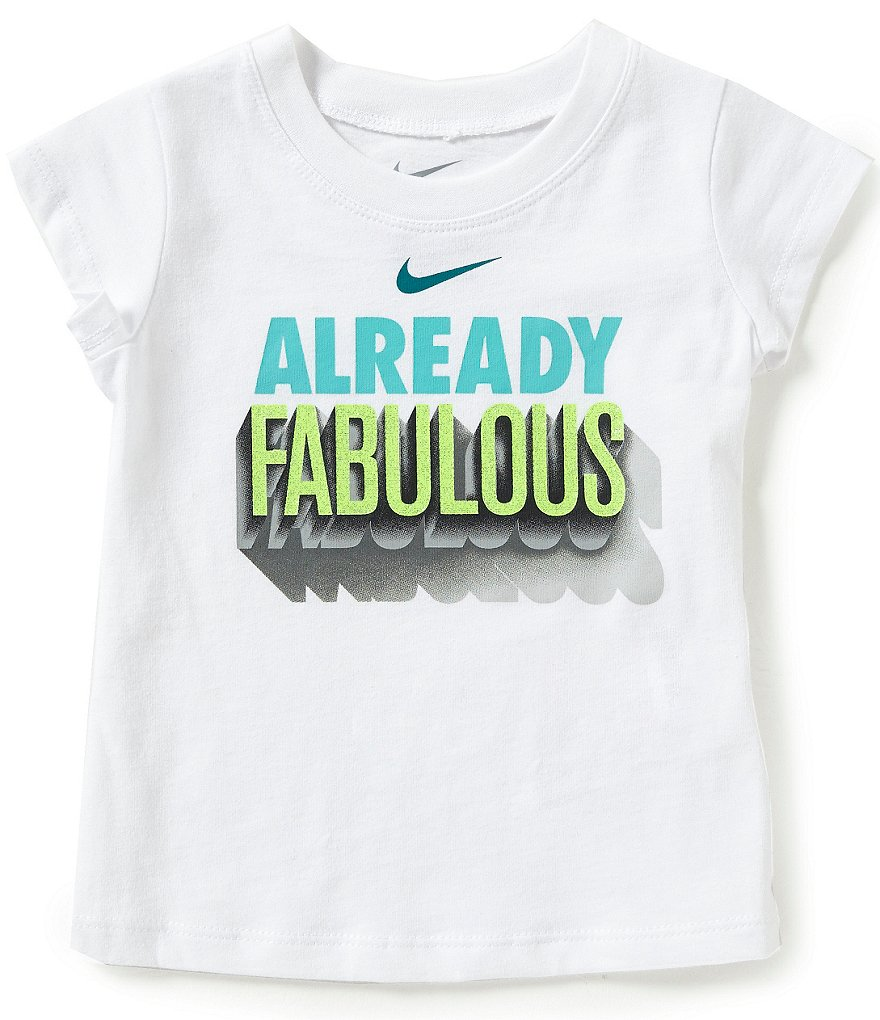 Nike Baby Girls 12-24 Months Already Fabulous Short-Sleeve Tee