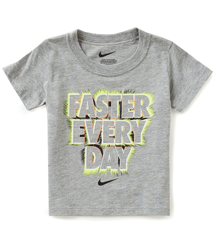 Nike Baby Boys 12-24 Months Faster Every Day Short-Sleeve Graphic Tee