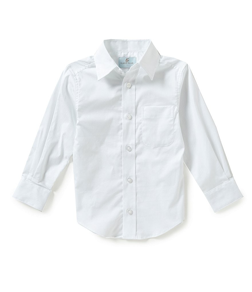 Class Club Little Boys 2T-7 Textured Woven Shirt
