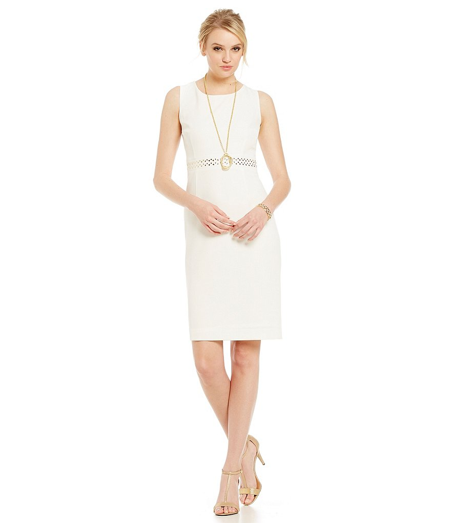 Kasper Petite Stretch Crepe Dress