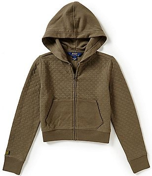Ralph Lauren Childrenswear Big Girls 7-16 Quilted Hoodie