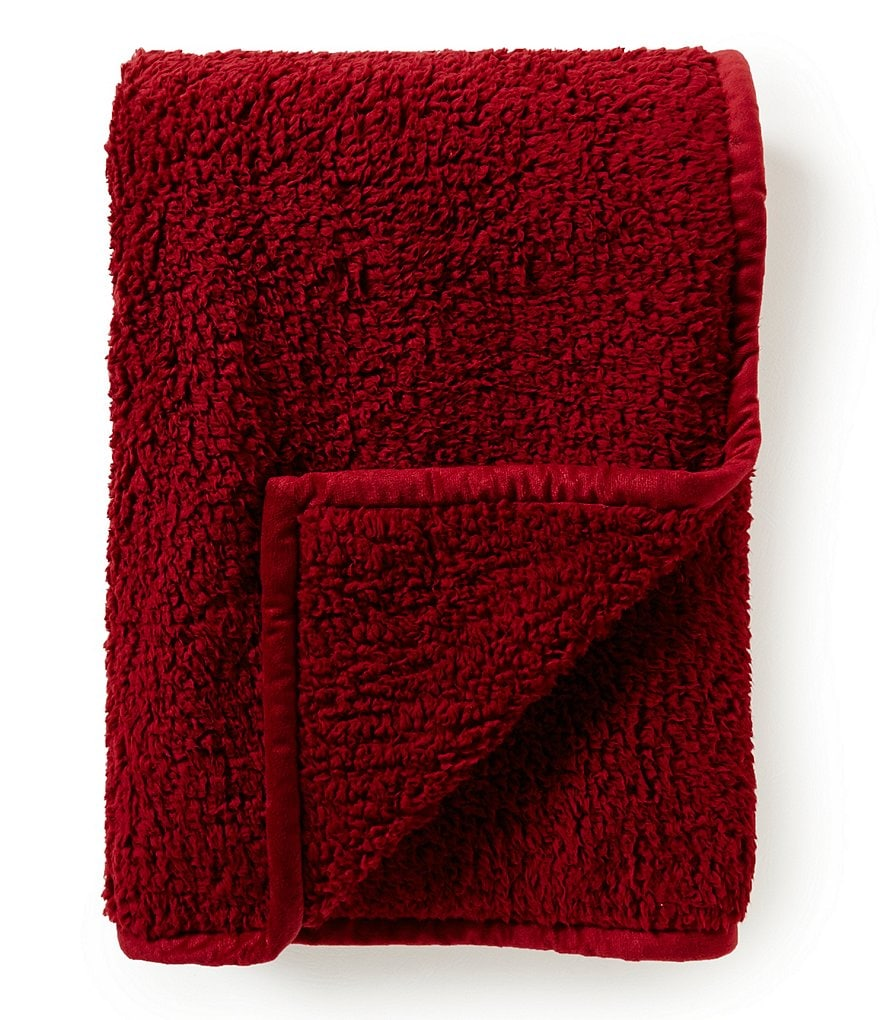 Noble Excellence Reversible Faux-Sherpa Throw