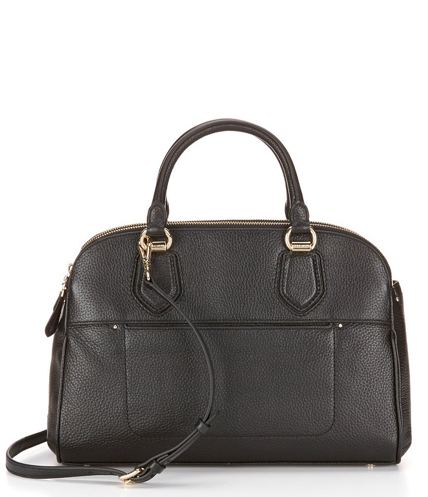 Cole Haan Tali Double-Zip Satchel