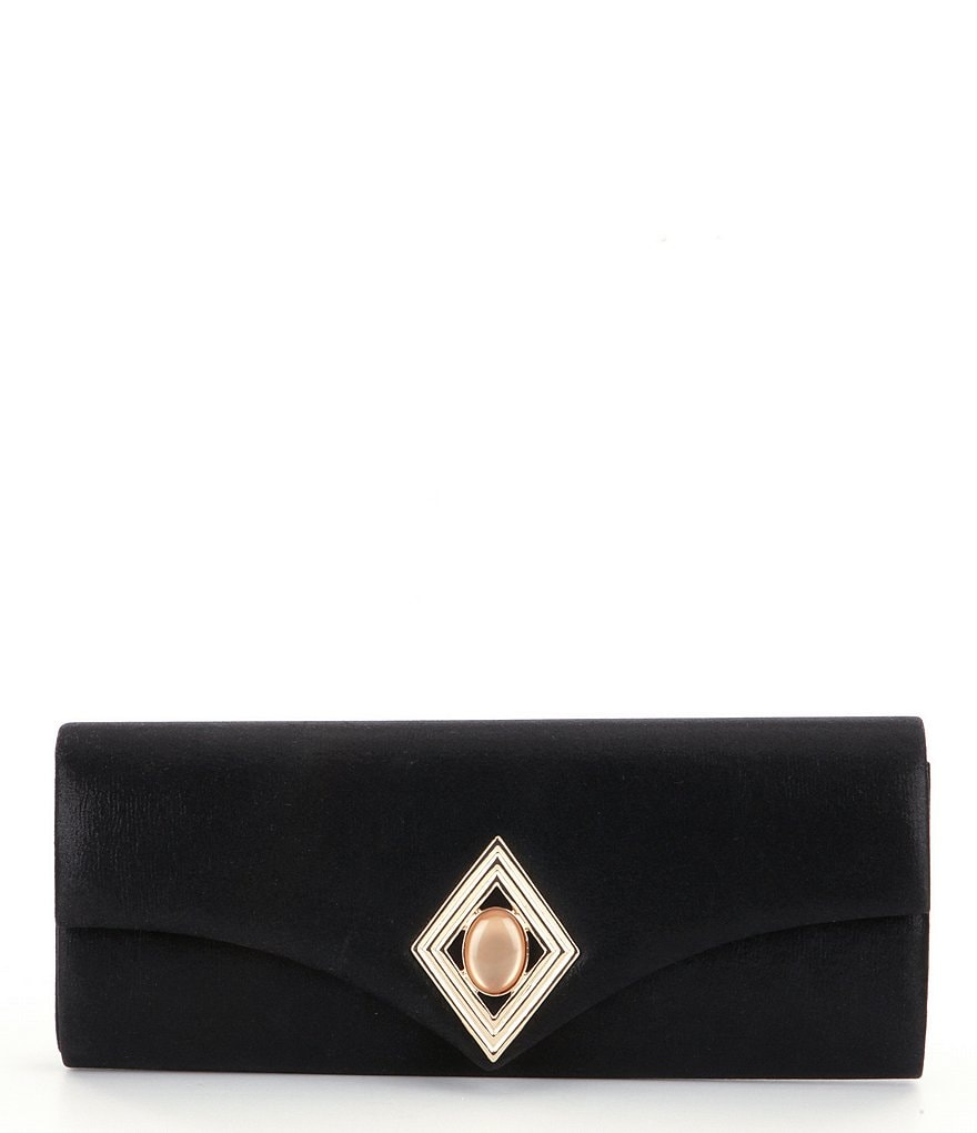 Kate Landry Diamond Brooch Clutch