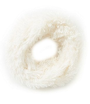 GB Girls Faux Fur Fringe Infinity Scarf