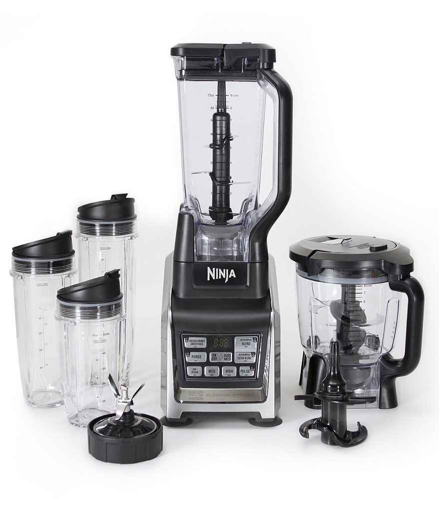 Nutria Ninja Blender System with Auto-iQ™