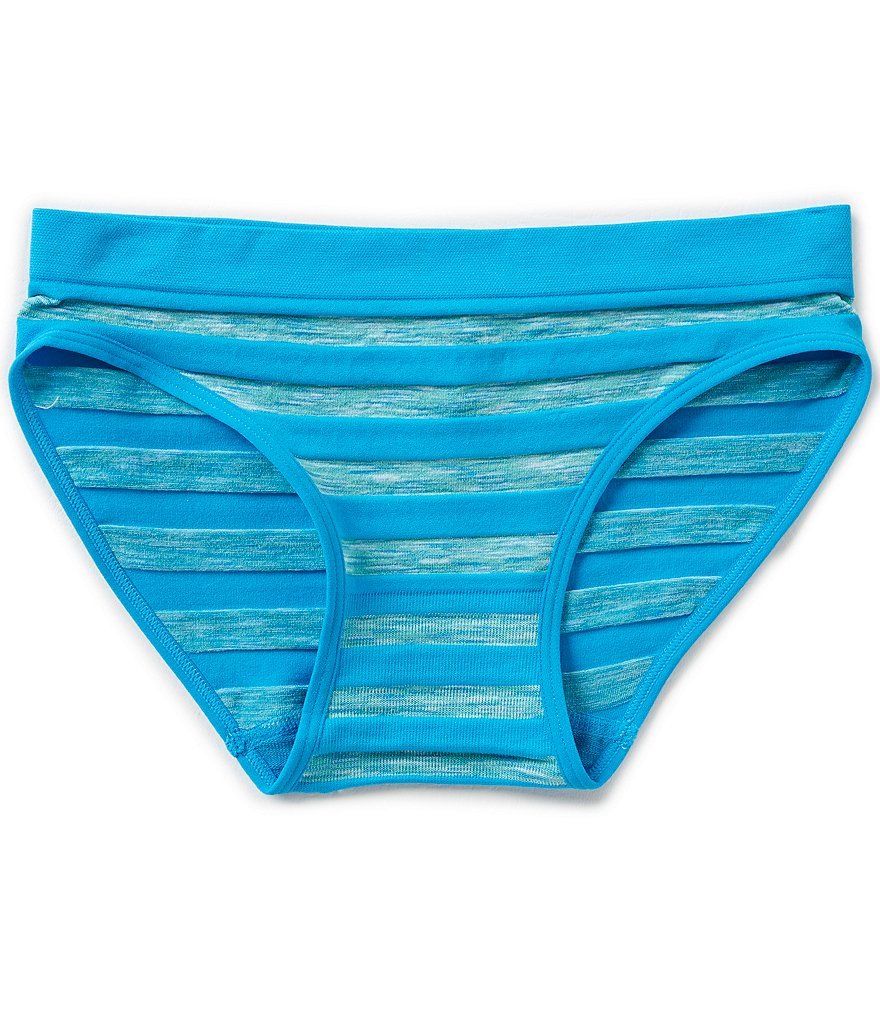 GB Girls Seamless Stripe Hipster Panty