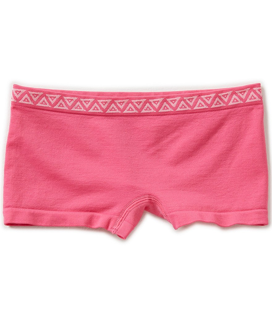 GB Girls Seamless Solid Boy Shorts