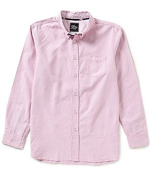 J.A.C.H.S. Manufacturing Co. Solid Oxford Shirt