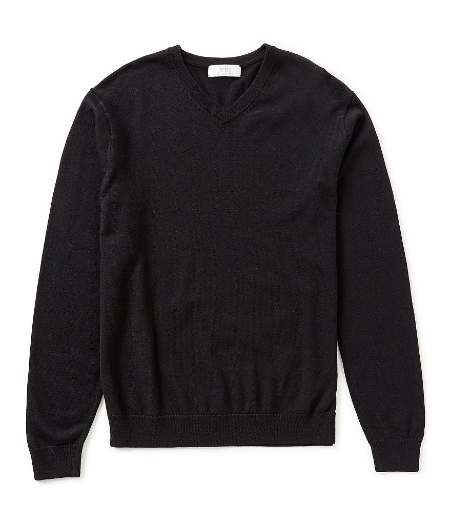 Turnbury V-Neck Merino Wool Sweater