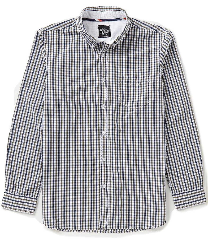 J.a.c.h.s. Manufacturing Co. Multi Gingham Long-Sleeve Shirt