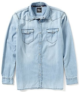 J.a.c.h.s. Manufacturing Co. Denim Shirt
