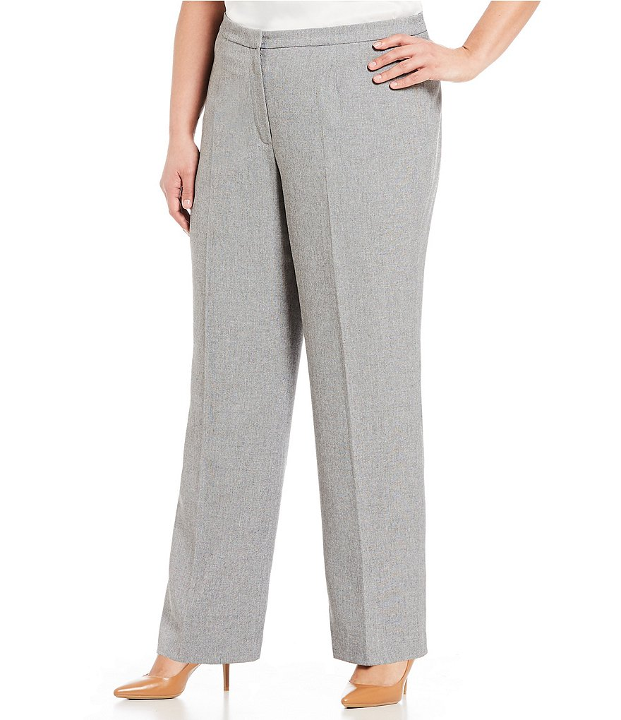 Kasper Slim Pleat Pant