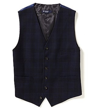 Cremieux Travis Wool Plaid Vest