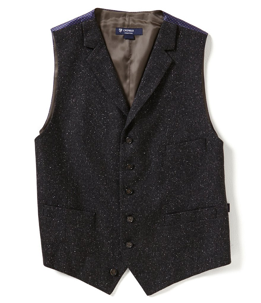 Cremieux Highland Peaks Collection Tailored Travis Wool Vest