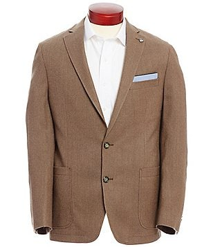 Cremieux Highland Peaks Collection Henry Solid Wool Blazer