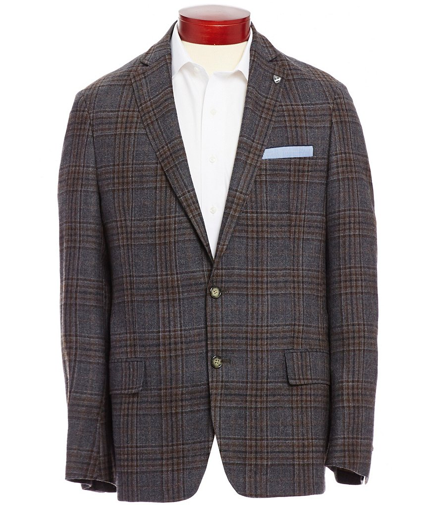 Cremieux Highland Peaks Collection David Plaid Wool Blazer