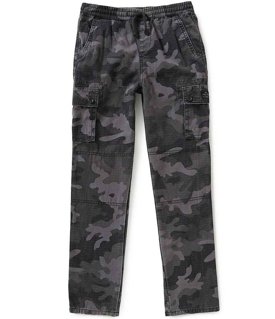 Ralph Lauren Childrenswear Little Boys 5-7 Camouflage-Print Ripstop Cargo Pants