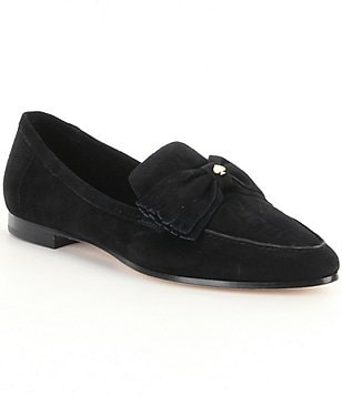kate spade new york Bow Detail Suede Cathie Loafers