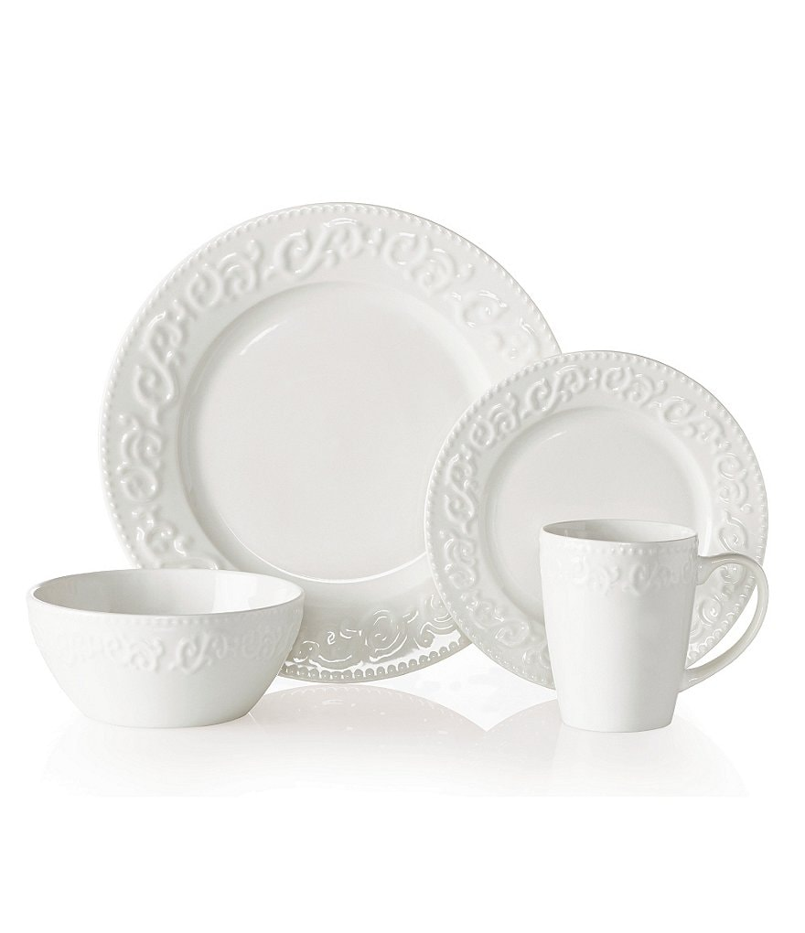 Gourmet Basics by Mikasa Layla 16-Piece Dinnerware Set