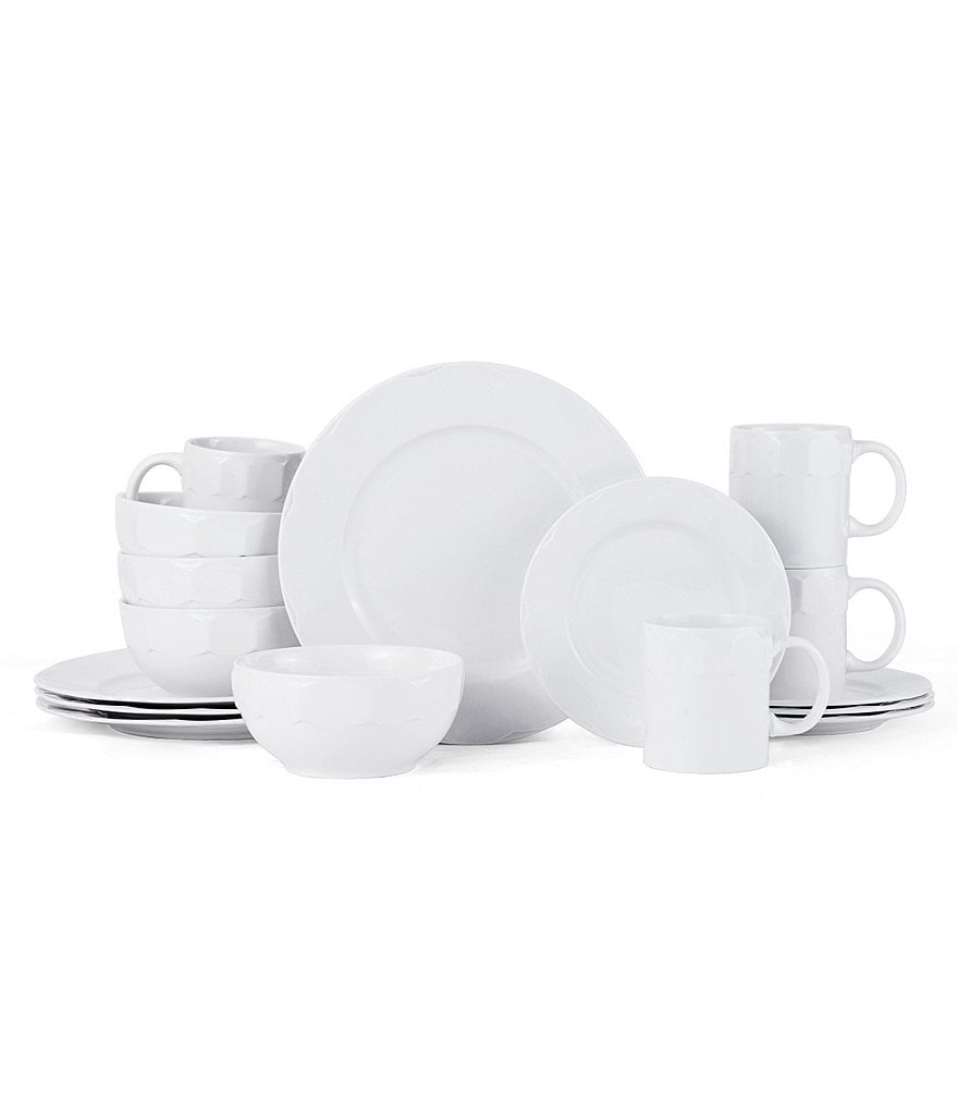 Gourmet Basics by Mikasa Hadley 16-Piece Dinnerware Set