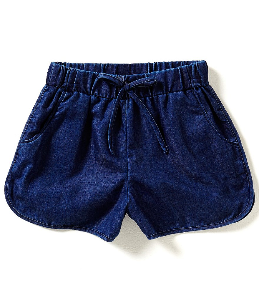 GB Girls Big Girls 7-16 Chambray Shorts