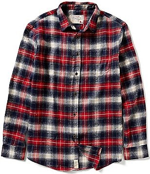 J.a.c.h.s. Manufacturing Co. Plaid Flannel Shirt