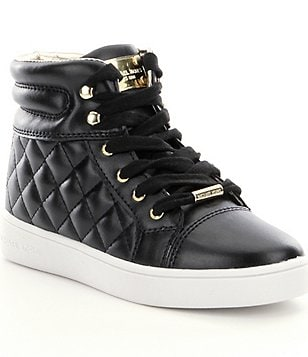 MICHAEL Michael Kors Girl´s Ivy Casey Quilted Lace-Up High Top Sneakers