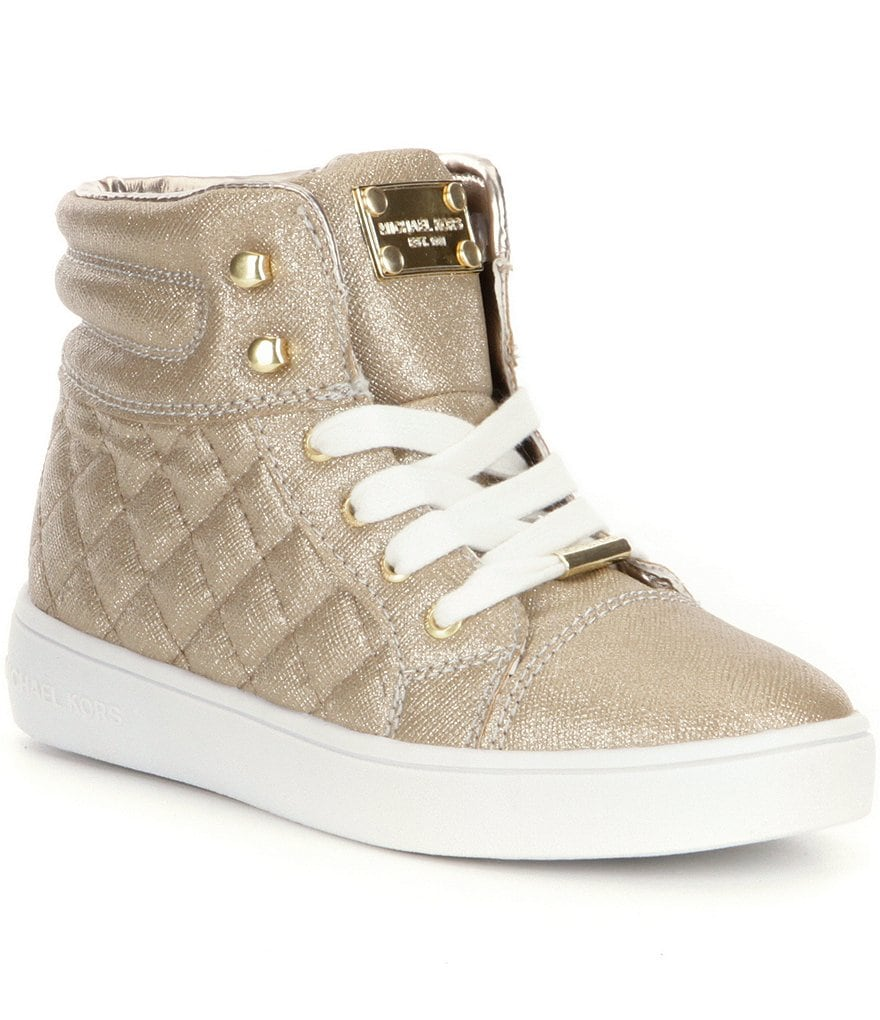 MICHAEL Michael Kors Girl´s Ivy Casey Lace-Up High Top Sneakers