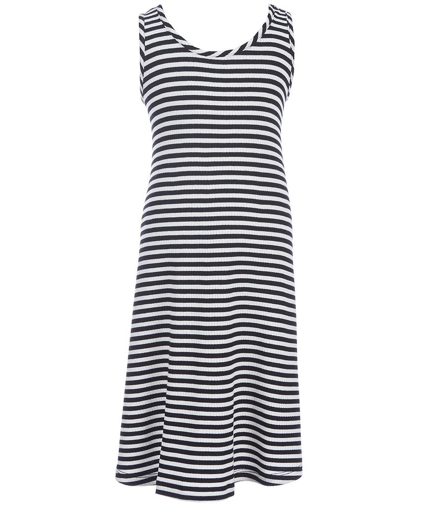 GB Girls Little Girls 4-6X Stripe Swing Dress