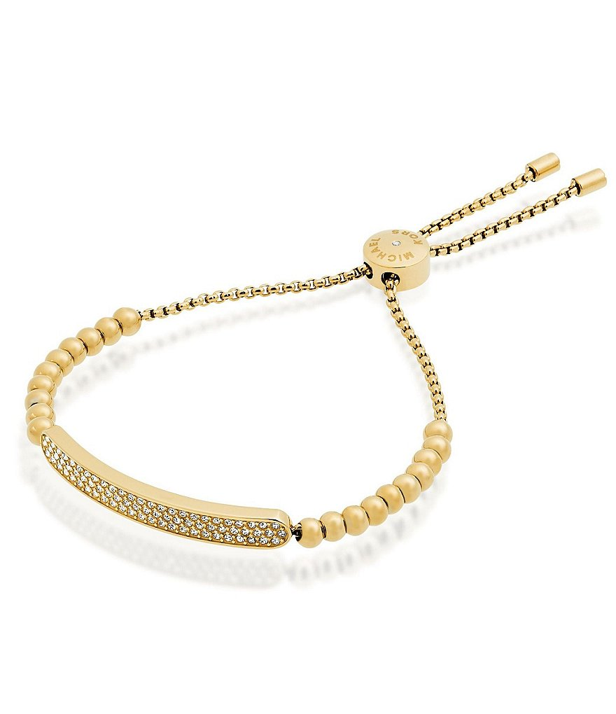 Michael Kors Pavé Beaded Slider Bracelet