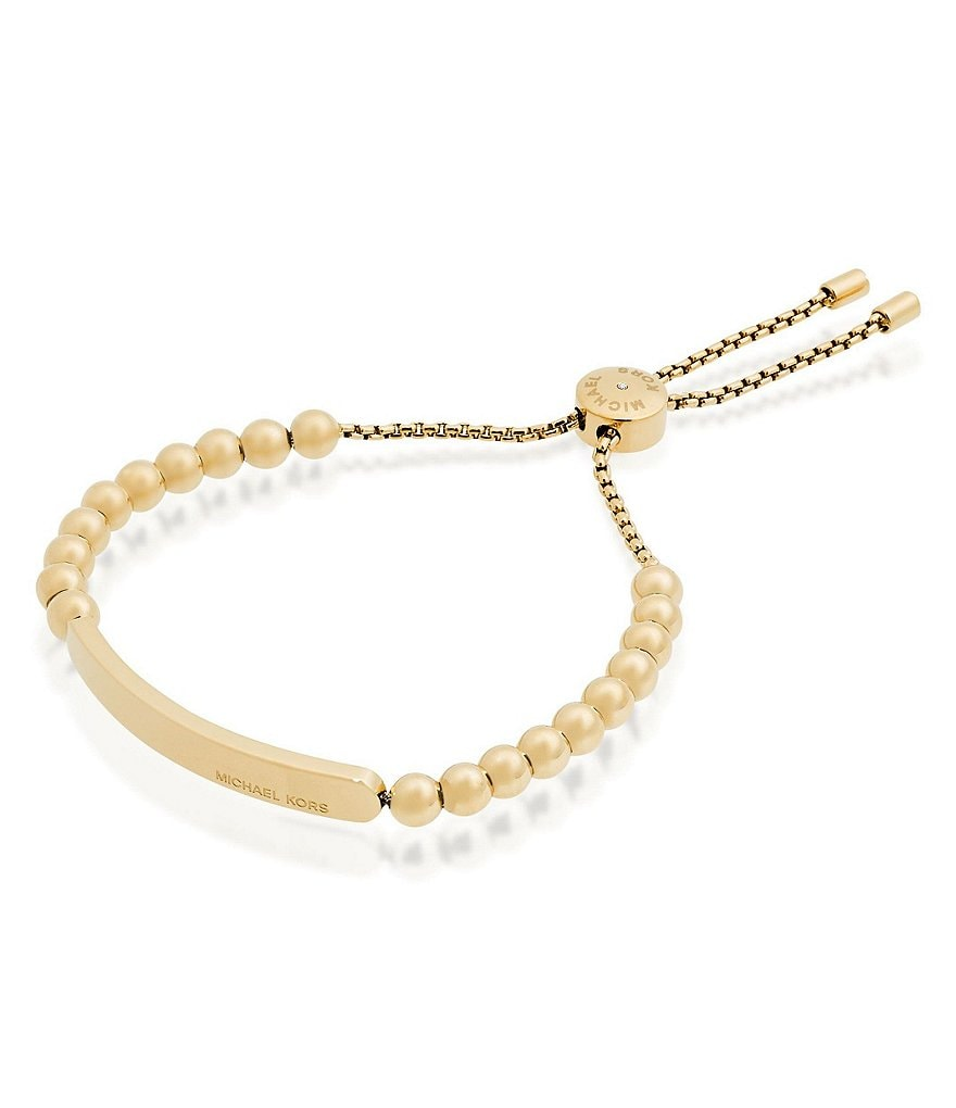 Michael Kors Beaded Slider Bracelet