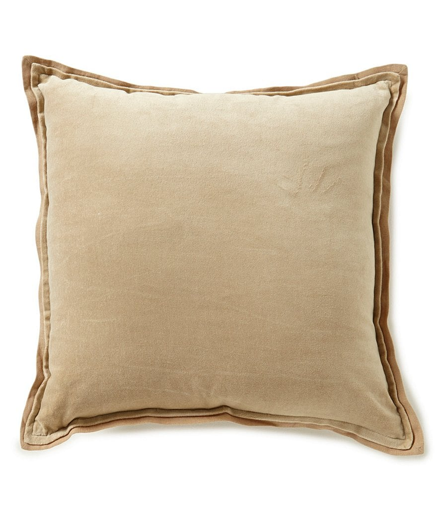 Noble Excellence Nature´s Neutrals Cotton Velvet & Linen Square Pillow