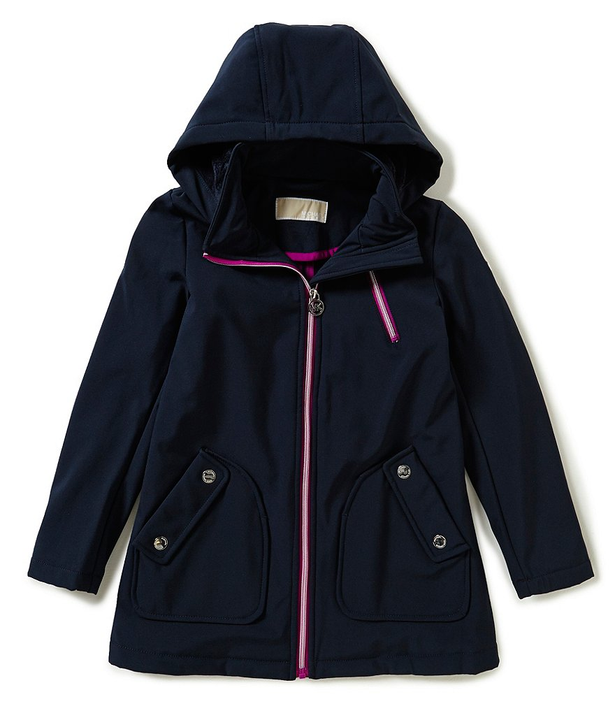 MICHAEL Michael Kors Big Girls 7-16 Hooded Soft Shell Jacket