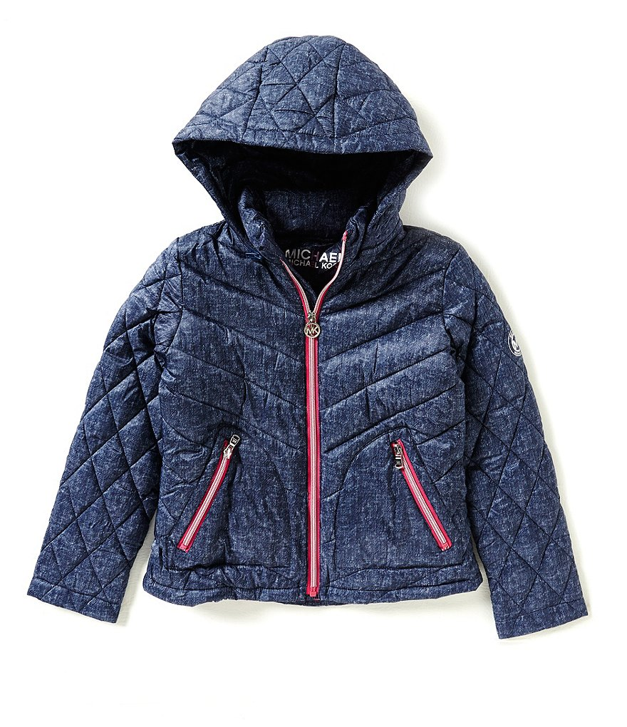 MICHAEL Michael Kors Big Girls 7-16 Puffer Coat