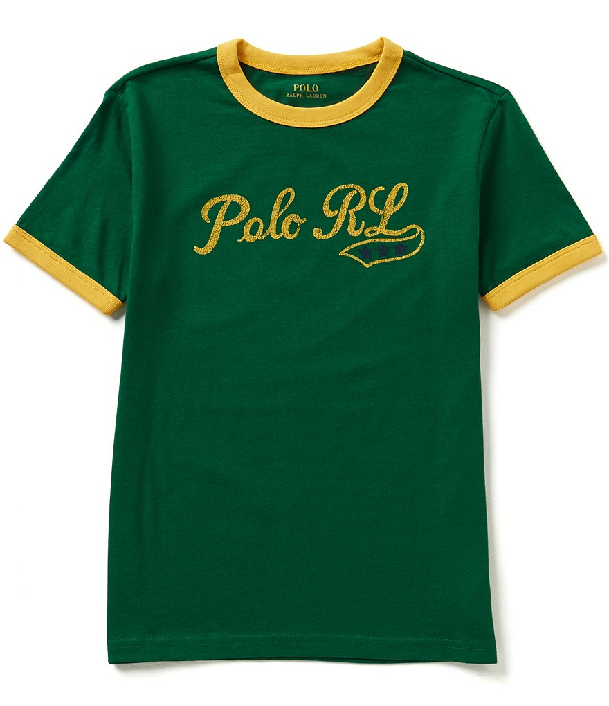 Ralph Lauren Childrenswear Big Boys 8-20 Vintage-Inspired Graphic Tee