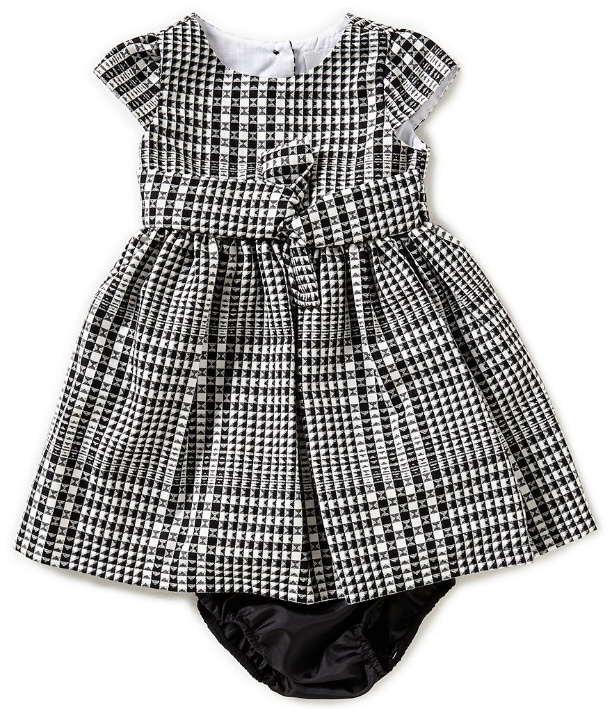 Rare Editions Baby Girls 12-24 Months Plaid Dress