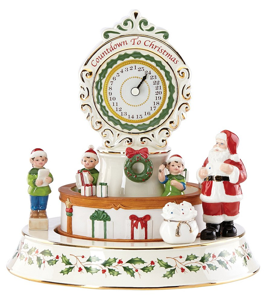 Lenox 2016 Countdown ´Til Christmas Musical Centerpiece Figurine