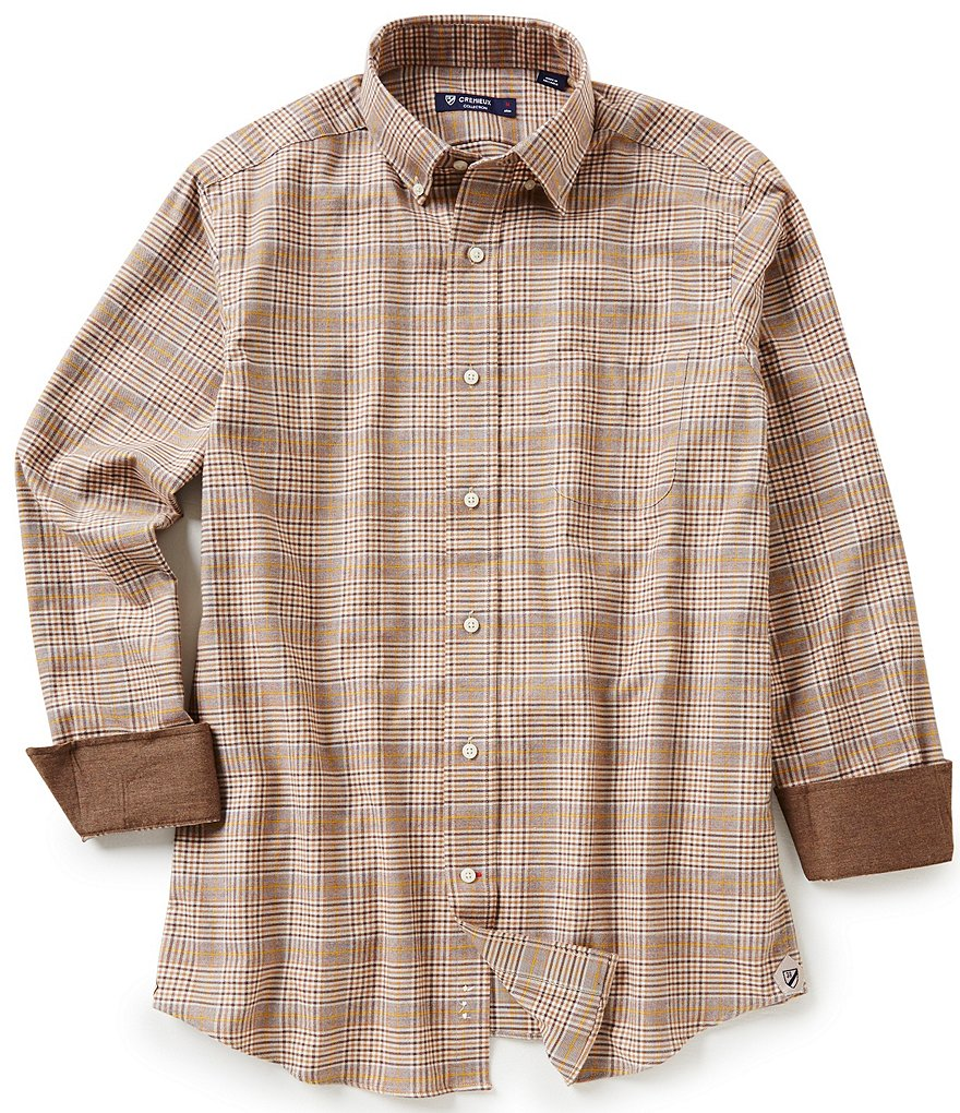 Cremieux Highland Peaks Collection Glen Plaid Woven Shirt